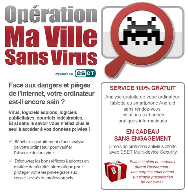 Opération Ma Ville Sans Virus